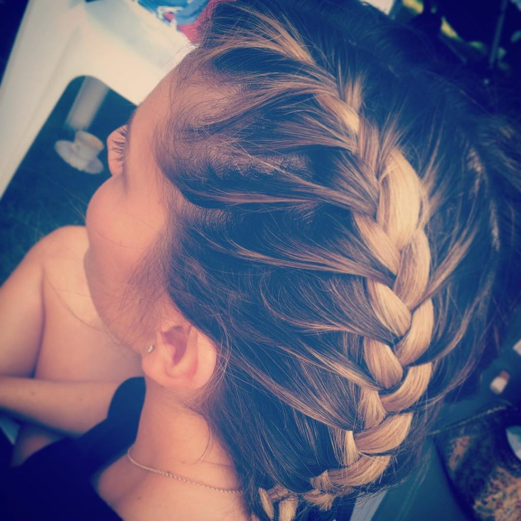 My twin sister is so good at doing boxerbraids hairstylehellip